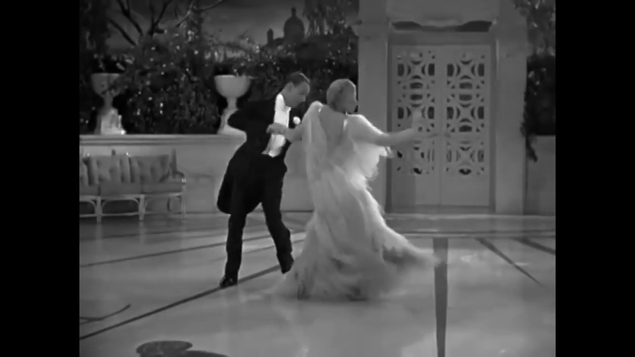 Fred Astaire And Ginger Rogers Cheek To Cheek The Dance Youtube