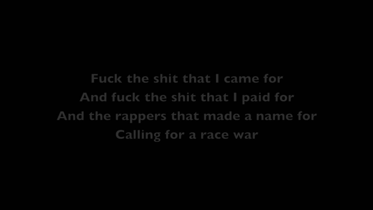 Bo Burnham - Eff (Lyrics)