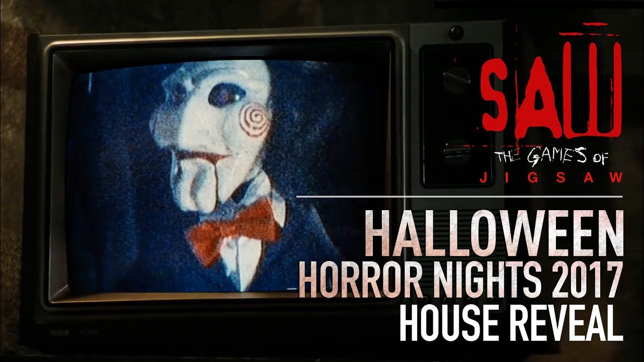SAW: The Games of Jigsaw House Reveal | Halloween Horror Nights ...