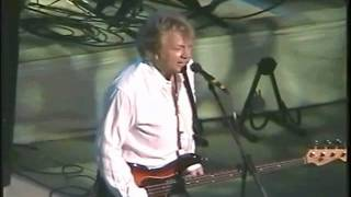 The Moody Blues performing the first of two encores at their perfor...