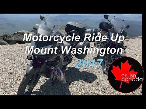 Motorcycle Ride Up Mount Washington 2017