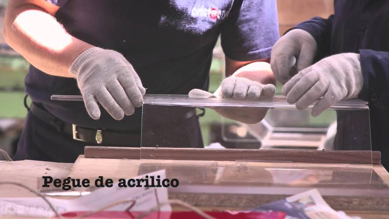 Armario De Cozinha Modulado ~ 6 Como pegar Acrilico Cristacryl YouTube