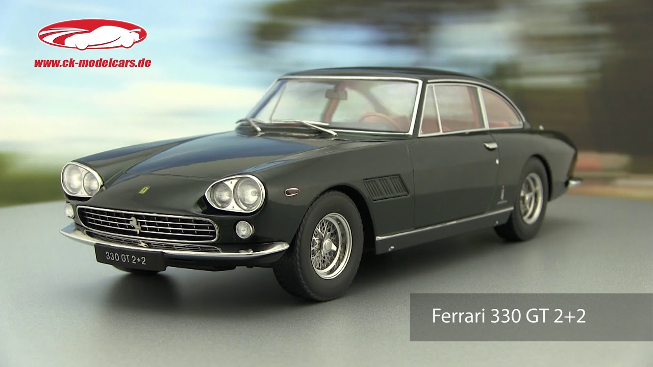 Kk Scale 1 18 Ferrari 330 Gt 2 2 Personal Car Enzo Ferrari 1964 Dark Green Metallic Kkdc180422 Model Car Kkdc180422