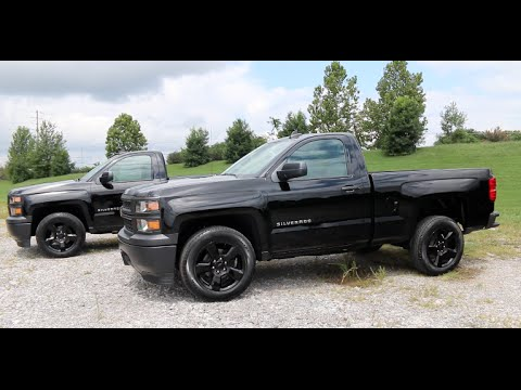 Blackout Chevy Silverado >> 2015 Chevy Silverado 1500 Blackout Edition 5 3l V8 4x4 Or 4x2