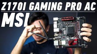 MSI Z170I Gaming Pro AC: маленькая плата с большими возможностями