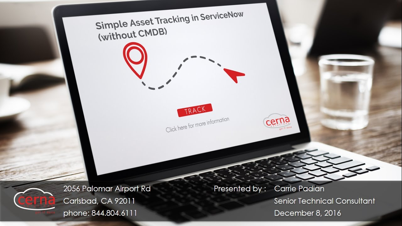 WEBINAR: Simple Asset Tracking in ServiceNow (without CMDB