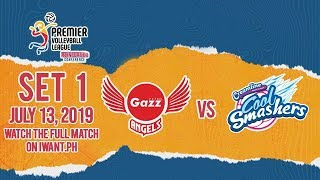 SET 1 Petro Gazz vs. Creamline July 13, 2019 Watch the full game on iWant.ph
