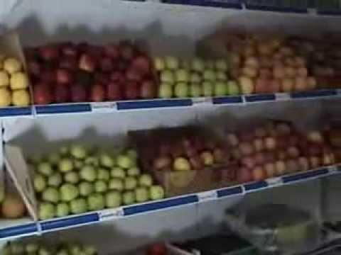 Delivery of fruit and vegetables