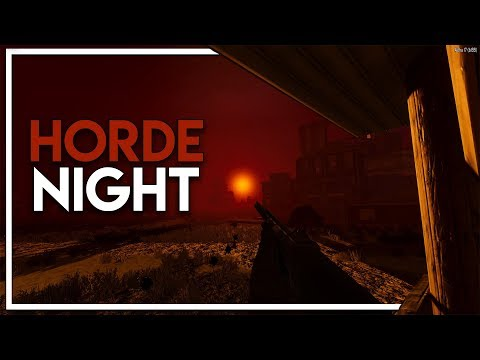 The Blood Moon Rises - Day 7 Horde Night! (7 Days to Die Alpha 17 Gameplay EP 8)