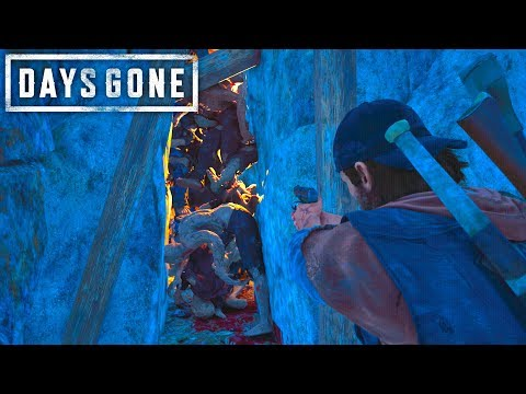 Days Gone - ELIMINATING A CAVE HORDE WITH THE BEST PISTOL | Days Gone Free Roam Gameplay (#30)