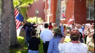 Confederate Flag Burning Derailed