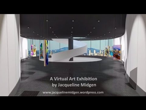 A Virtual Art Exhibition by Jacqueline Midgen