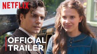 Sherlock Holmes Henry Cavill Trailer 2020 - Netflix Movies Enola Holmes Easter Eggs