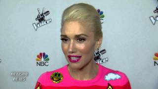 GWEN STEFANI INTERVIEW NARROWING THE VOICE TALENT, WORKING WITH PHARRELL