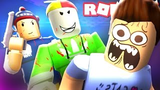 ESCAPE DIE EVIL YOUTUBERS IN ROBLOX