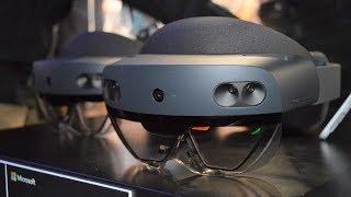 نظارة من المستقبل Microsoft HoloLens 2
