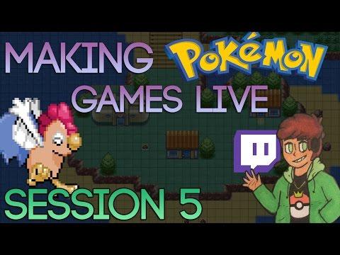 Making A Pokemon Game Live (Tidal Session 5)