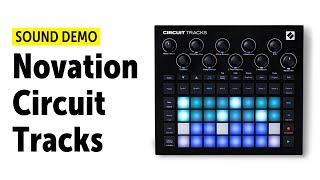 Novation Circuit Tracks Workflow & Sound Demo (no talking)