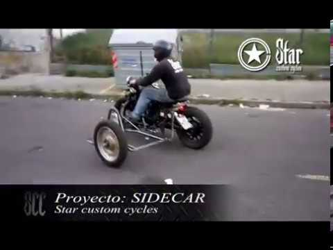 SIDECAR PERSONALIZACION EN QUITO STAR CUSTOM CYCLES