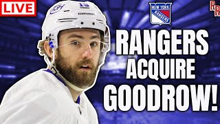 Barlcay Goodrow TRADED to the New York Rangers + MORE! (Rangers Review EP 24)