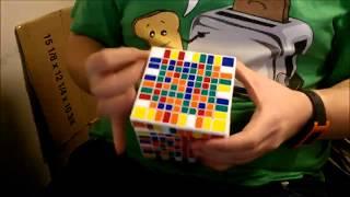 10x10 Rubik's Cube Solve timelapse (21:36)
