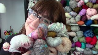 Cat Knit Podcast // Episode 73 // HFF Yarn Acquisitions!