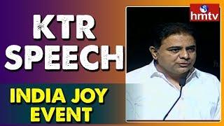 IT Minister KTR Speech At Inaugural Ceremony Of India Joy Event | hmtv