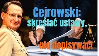 Cejrowski: skreślać ustawy, nie dopisywać! 2019/10/21 Studio Dziki Zachód odc. 31 cz. 2