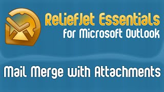 outlook mail merge with attachments