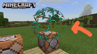Minecraft pe particle trail command