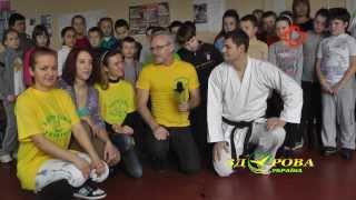 Здоровая Украина - Каратэ и Хипхоп для детей -  Всемирный День больного