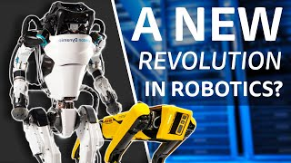 Boston Dynamics 2021 - A Glimpse At The Future of Robots?