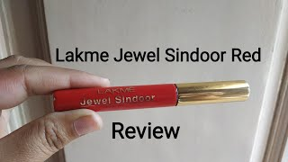 Lakme Jewel Sindoor Red Review