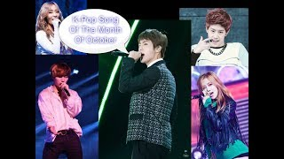 K-Pop Song Of The Month Of October