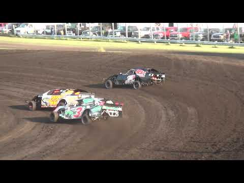 IMCA Sport Mod Heats Benton County Speedway 8/20/17