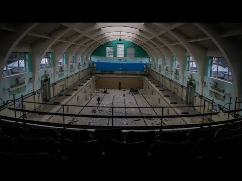 Exploring Abandoned Leisure Centre with Huge Pool