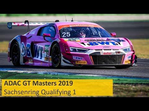 ADAC GT Masters Qualifying 1 Sachsenring 2019 Re-Live Deutsch