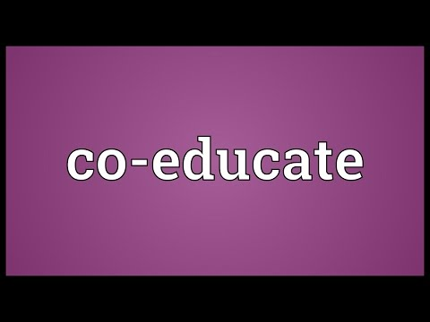 Co-educate Meaning