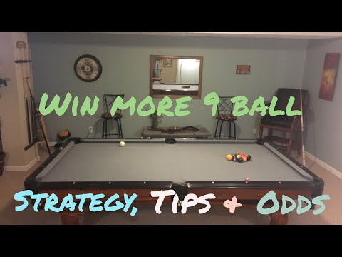How to Win More 9 Ball Games: Break, Strategy, Tips and Important Shots
