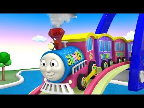 Thomas The Train Cartoon - Train Kids Toy Factory Cartoon Train FOR KIDS