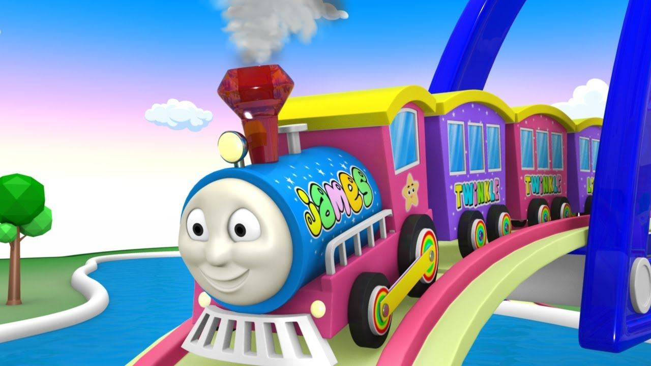 Thomas the Train - Train Cartoon - Train Kids - Cartoo Cartoon - Toy Factory Cartoon Train - Toys