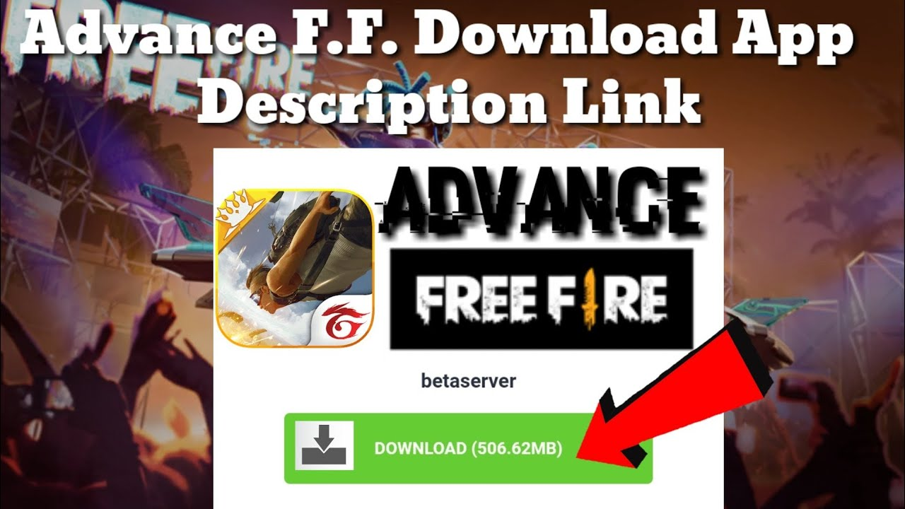Free Fire Advanced Server Download Link Description Advanced Server Free Fire Download