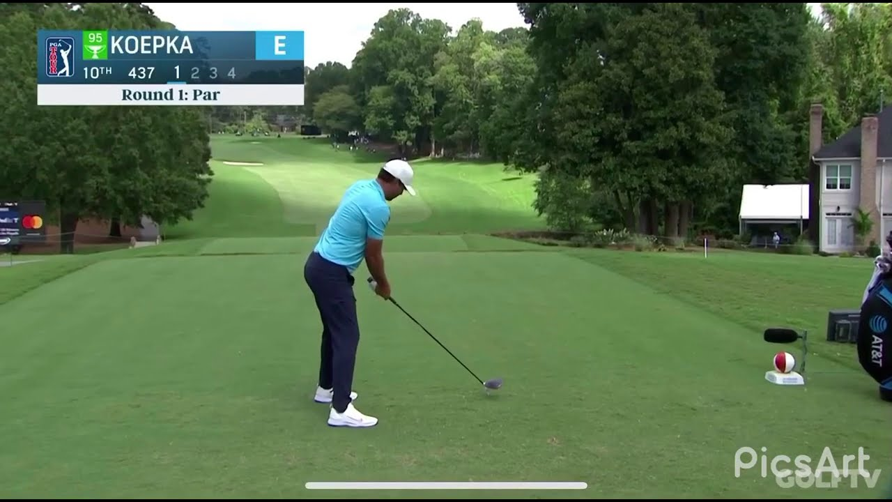 Download Brooks Koepka triple bogeys and lets out a massive fart at the Wyndham (8/14/2020)