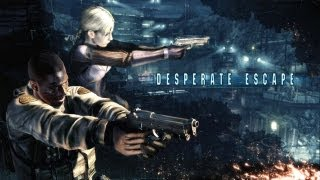 Resident Evil 5: Gold Edition - Desperate Escape (All Cutscenes) (HD 720p)