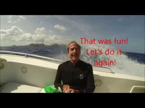 St  Maarten Shark Dive 2014 With Ocean Explorers