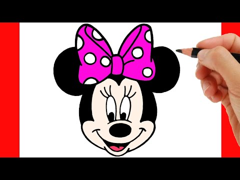HOW TO DRAW MINNIE MOUSE