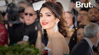 Portrait de l'avocate Amal Clooney