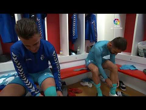Calentamiento Granada CF vs C.A. Osasuna