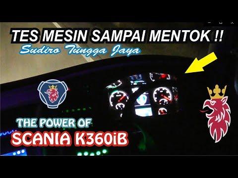 LIMIT 170 KM/H DRIVER MASIH MINTA TAMBAH... !!! TES MESIN SUDIRO TUNGGA JAYA SCANIA K360iB