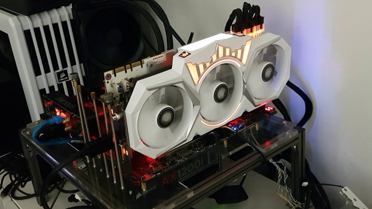 GALAX / KFA2 GeForce GTX 1080 Ti HOF RGB LED lighting overview